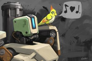 Bastion and Ganymede by tfZanben