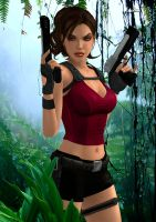 Lara Croft 30 by Orphen5