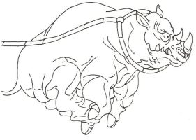 Rhino 02 from TMNT by Stonegate