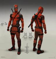 Deadpool Test Footage - Costume Design by joshuathejames
