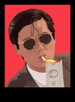 Chow Yun Fat by MrStitch