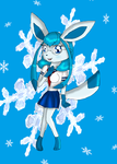 Candice the Glaceon by KendraTheShinyEevee