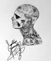 Rick Genest- Profile 8 by GeeFreak