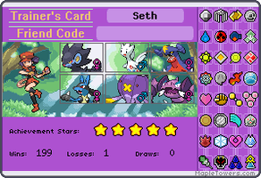 Trainer card by stfugtfo