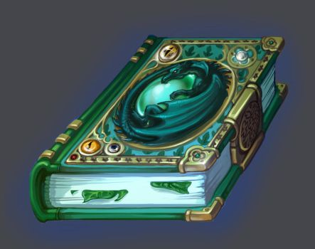 Book of green magic by Tottor