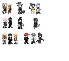 Soul Eater characters by sandninja15