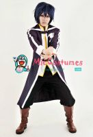 Fairy Tail Gray Fullbuster Purple Cosplay by miccostumes