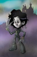 E. Scissorhands by Bloodzilla-Billy