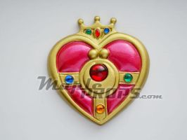 Cosmic Heart brooch V2 by MapleKiss