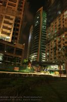 Urban Jungle Night Growth by genocide2004