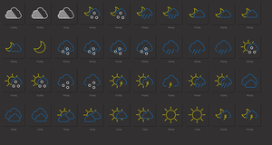 Color L.weather icons by tchiro