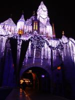 Christmas at Disneyland by winterwidow