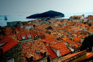 Red roof by SnowPinappleYeah