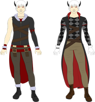 Xavier - Outfit Concept Art by Tagrberry