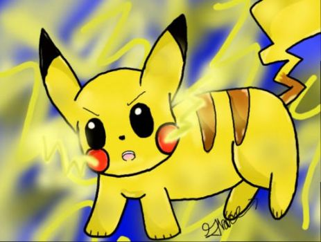 Pikachuuuu by silvaglace