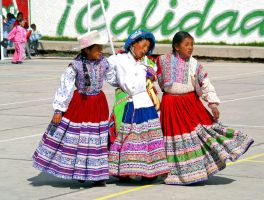 Young Peruvian Dancers by CitizenFresh