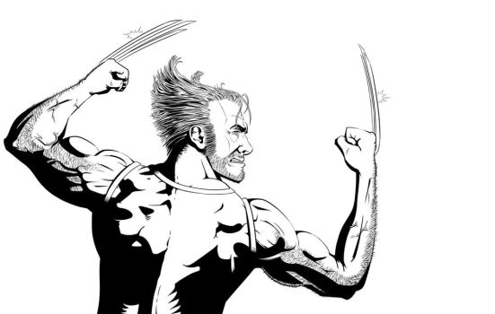 Wolverine by Mike-Bunt