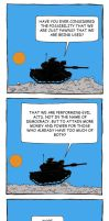 Tank Conversation 1 by mattcantdraw