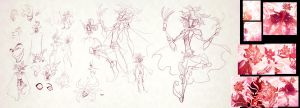 Flaky Pastry design sketches: Baliver by falingard