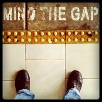 Mind the gap by guyprives