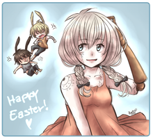 Happy Easter 2012 by HatoriKumiko
