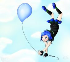Aiko's Balloon by TheLonelyQueen