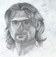 David Ferrer by Ellaire