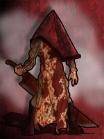 Pyramid Head by theRedDeath888
