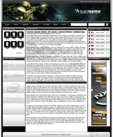 VekoMedia Gaming Template by VekoMedia