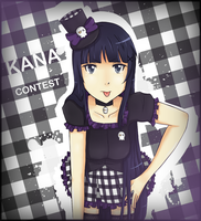 Birthday Contest : Kana by Yvanya