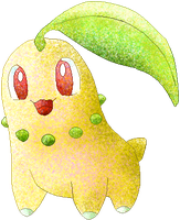 Chikorita -colour by Sulfura