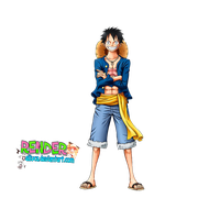 Luffy render by Alluca
