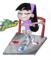 Trixie Tang doing DDR by Ultrasponge