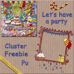 Let's have a party freebie by VianneScraps