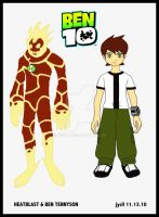 BEN 10 by jycll