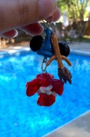 Mickey Mouse Fantasia keychain by Brittastic174