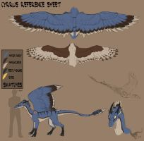 Cyrrus Character Sheet by felineflames