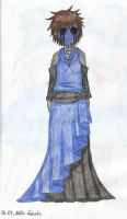 Eyeless Jack in a dress by Lukusta