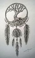 Tree of life catcher by empuzzi