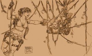 Lara vs. Ballistic...again by edtadeo