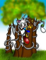 Tree-hugger Gar by wisp2007
