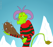 Uncle Krampus by TheUnisonReturns