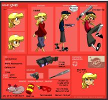 TF2 meme Steff, Red Scout by s0s2
