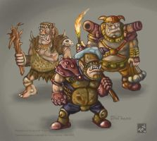 Concept Art : Ogres by polawat