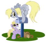 MLP:FiM Derpy's number one assistant by zoidledoidle