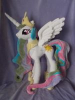 My Little Pony Princess Celestia Plush by CINNAMON-STITCH