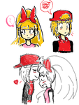 Quick Blossick Drawings by awesomeshadow773