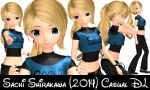 MMD Sachi Shirakawa (2014) Casual Outfit DOWNLOAD by SachiShirakawa