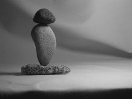 Rock Balancing Sculpture 4 by JJShaver