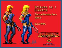 Streets of Rage 3. Electra. by Naliaw
